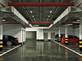 Машиноместа в подземном паркинге